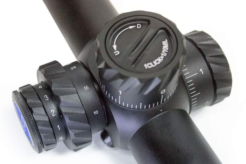 Регулировка прицела Discovery Optics HD 5-25x50 SFIR FFP