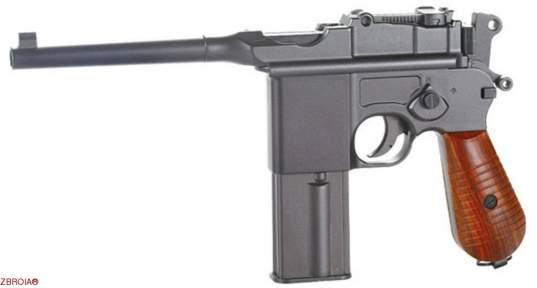 Пневматический пистолет SAS Mauser M712 Blowback (KMB18DHN)