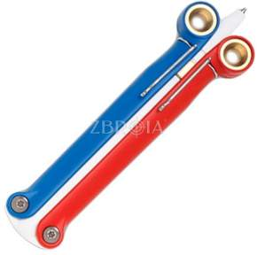 Ручка тактическая Spyderco Baliyo Red/White/Blue