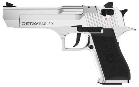 Шумовой пистолет Retay Arms Eagle X Nickel