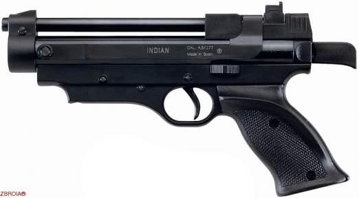 Пневматический пистолет Cometa Indian Black
