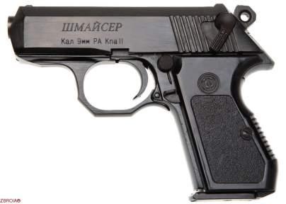 Шумовой пистолет Шмайсер ПСШ-10 (чёрный)