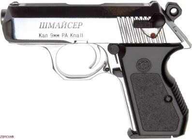 Шумовой пистолет Шмайсер ПСШ-10 (хром)