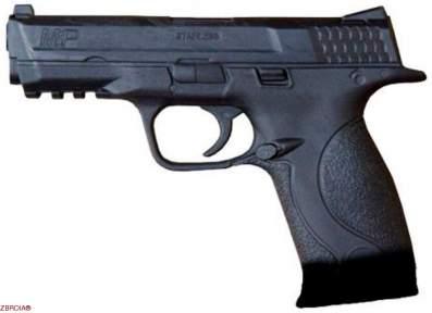 Резиновый пистолет Twin Tower Е403