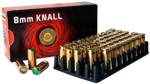 Холостые патроны GECO Blank Cartridges (пистолетный, 8 мм)