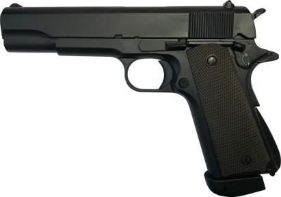 Пневматический пистолет ZBROIA M1911 Blowback