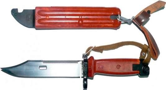 Макет Штык-нож АК-74 (рыжий)