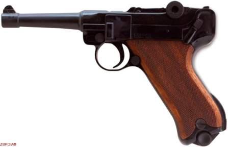 Шумовой пистолет Cuno Melcher Luger P-08 (9 мм)