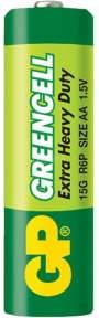 Батарейка GP Greencell AA (LR06)