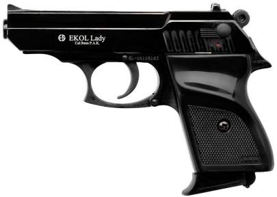Шумовий пістолет Voltran Ekol Lady Black
