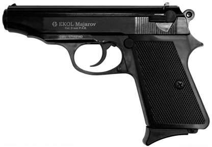 Шумовой пистолет Voltran Ekol Majarov Black