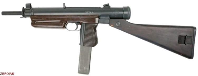 Макет Пистолет-пулемет SA-24