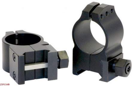 Кольца Warne Tactical Fixed Ring Medium 614М (30 мм)