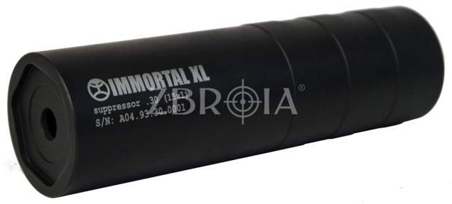 Глушитель Steel Immortal XL кал. 30. Резьба M14x1 L