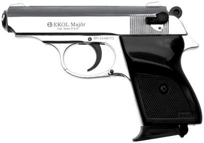 Шумовой пистолет Voltran Ekol Major Chrome