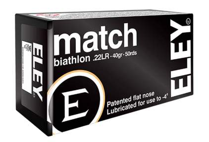 Патрон ELEY Match Biathlon кал. 22 LR