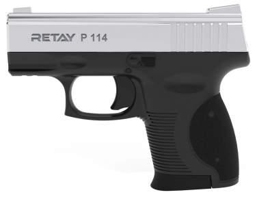 Шумовой пистолет Retay Arms P114 Nickel