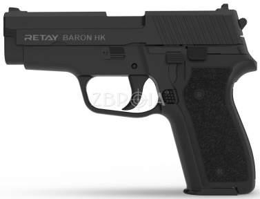 Шумовой пистолет Retay Arms Baron HK Black