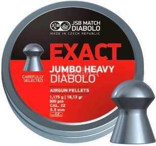 Пульки JSB Diabolo Exact Jumbo Heavy