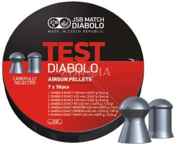 Пульки JSB Diabolo Exact Test 4.5мм