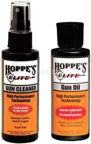 Комплект: Hoppe's Elite Gun Oil + Gun Cleaner 2x60 мл