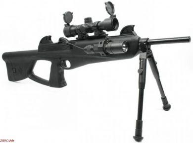 Пневматическая винтовка CO2 Crosman Nightstalker (NS1204А)