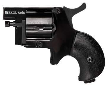 Шумовой револьвер Ekol Arda Matte Black (8 мм, пистолетный)