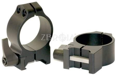 Кольца Warne Quick Detach Ring Medium 214LМ (30 мм)