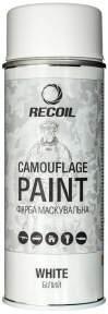 Краска маскировочная RecOil 400 мл (белая матовая)
