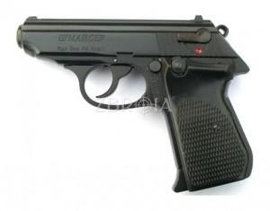 Шумовой пистолет Шмайсер ПСШ-790 (чёрный, 7 зарядный)