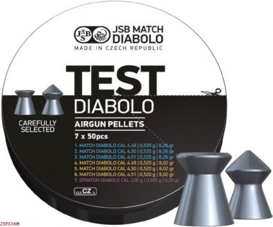 Пульки JSB Match Diabolo Test