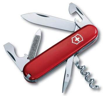 0.3802 Нож Victorinox Sportsman Red