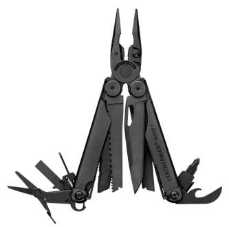 Мультитул Leatherman Wave Plus Black (832526)