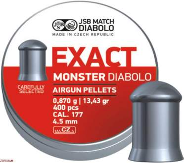 Пульки JSB Diabolo Exact Monster
