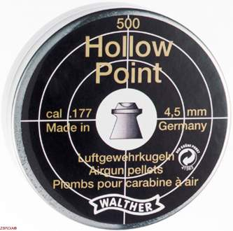 Пульки Walther Diabolo Hollow Point