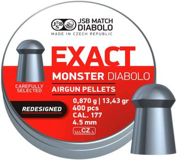 Пульки JSB Diabolo Exact Monster Redesigned