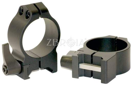Кольца Warne Quick Detach Ring High 202LМ (25,4 мм)